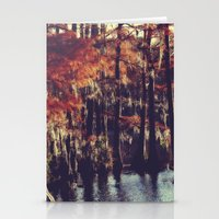Autumn Cypress Stationery Cards