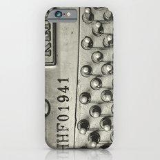Piano 01B iPhone 6 Slim Case