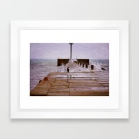 Lake Winds Framed Art Print