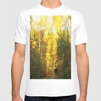 Forest In November Mens Fitted Tee White SMALL