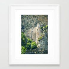 they won't find us here Framed Art Print