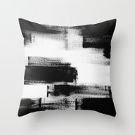 No. 85 Modern Abstract B… Throw Pillow