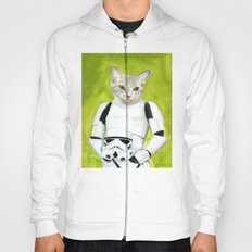 Poopy the Kitty Storm Trooper  Hoody