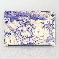 ZombieTeddy iPad Case