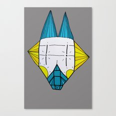 Robo dog Helgi Canvas Print