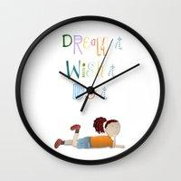 Dream It, Wish It, Do It Wall Clock