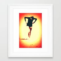 Woman Emerging (g) Framed Art Print