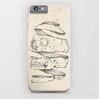 iPhone & iPod Case featuring Twister Skull by Mike Koubou