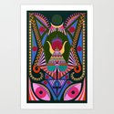Ojo Temple Art Print