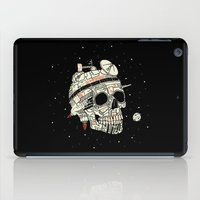 Planet Space Skull  iPad Case