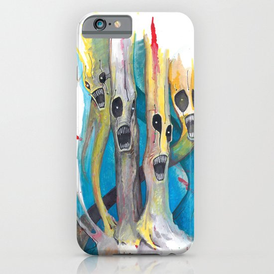 Barbershop Quartet of Evil Trees iPhone & iPod Case