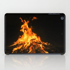 Bonfire (lohri) iPad Case