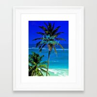 SEA DREAMS Framed Art Print