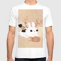 Wolpertinger Mens Fitted Tee White SMALL