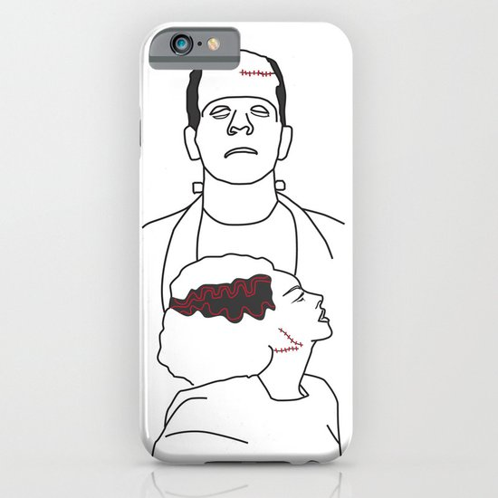 Monster & his Bride iPhone & iPod Case