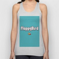Flappy Bird Unisex Tank Top