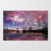 A Safe Anchorage Canvas Print