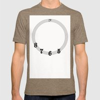 5 6 7 8 Bass Clef Mens Fitted Tee Tri-Coffee SMALL