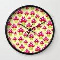 Honguitos Wall Clock