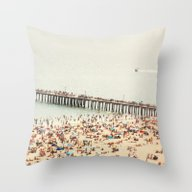 The Summers We Leave Beh… Throw Pillow