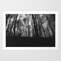 A Glass Darkly  Art Print