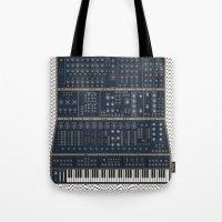 Modular Synth Tote Bag