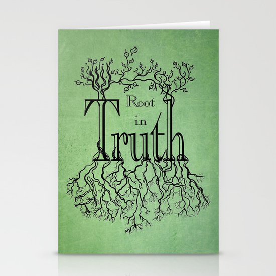 Root in Truth Stationery Card