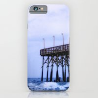 Waves Against The Pier iPhone 6 Slim Case
