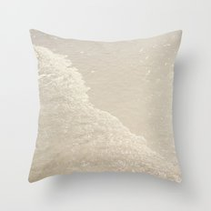 Sparkling Waves Throw Pillow