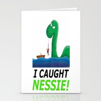 I Caught Nessie Stationery Cards