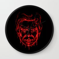 The Dark Passenger Wall Clock