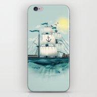iPhone & iPod Skin featuring The Whaleship by Dan Elijah G. Fajard…