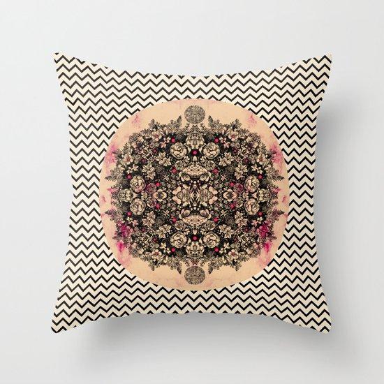 C.W. xxi Throw Pillow