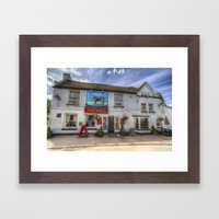 The Bull Pub Theydon Bois Framed Art Print