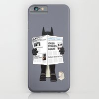 iPhone & iPod Case featuring A Bat Sunday by Altay