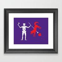 Beat State Framed Art Print
