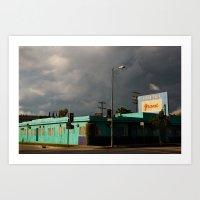 The Grand Motel Art Print
