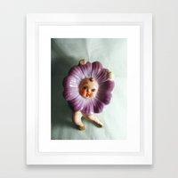Awful Dancing Flower Dis… Framed Art Print