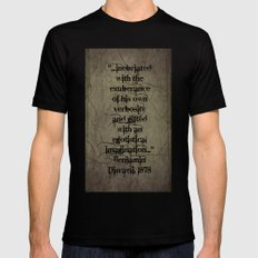 The Politician Mens Fitted Tee Black SMALL