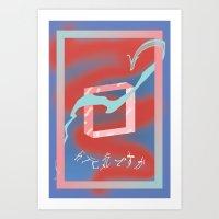 Inseguridades  Art Print