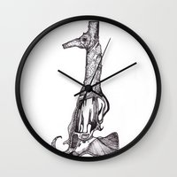 This is my seahorse, this is my gun... Wall Clock
