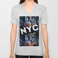NEW-YORK (LIBERTEE CITY) Unisex V-Neck