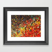 END OF THE RAINBOW - Bol… Framed Art Print