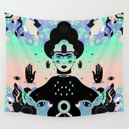 Wall Tapestry - Las lunas de Frida - Súa Agapé