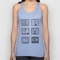 Every Window is A Story Unisex Tank Top