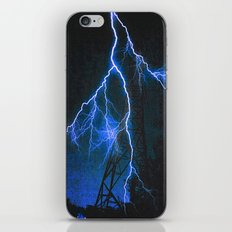Blue Lightning iPhone & iPod Skin