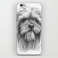 Lhassa Apso Portrait G10… iPhone & iPod Skin
