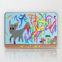 Artistic kitten  Laptop & iPad Skin