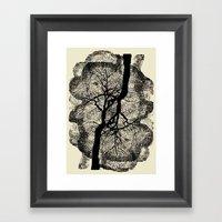 TREE/ROOTS Framed Art Print