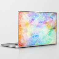 Laptop & iPad Skin featuring Pastel Color Splash 04 by Aloke Design